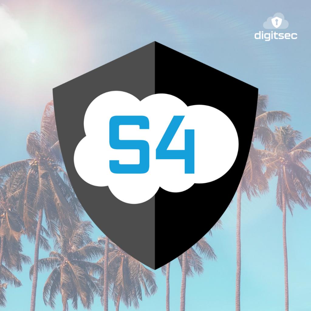 S4 Logo Shield on Sunny Background